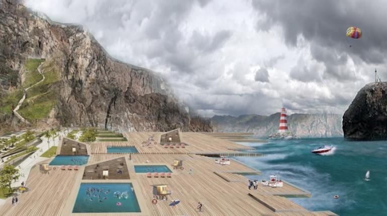 Благоустройство пляжа с разработкой термального спа-комплекса