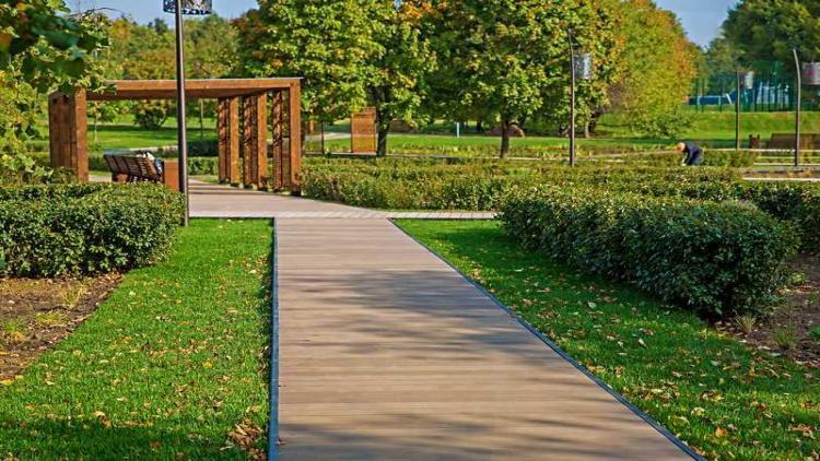 террасная доска для парков